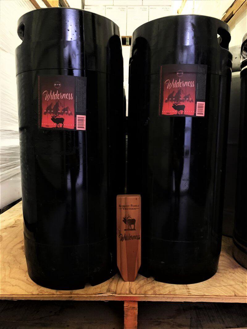kegged red wine
